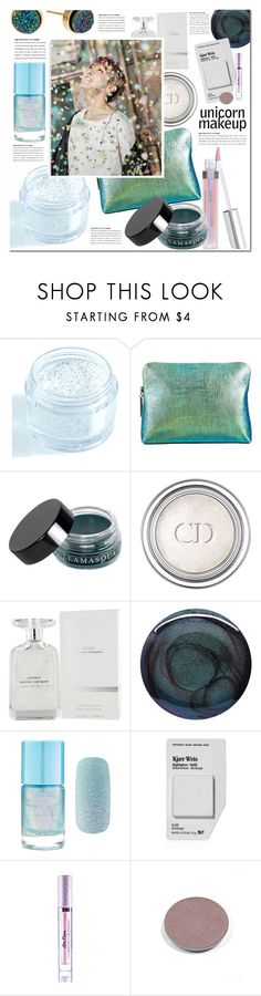 """""""Unicorn make up"""" by pankh ❤ liked on Polyvore featuring beauty, In Your Dreams, Bare Escentuals, 3.1 Phillip Lim, Illamasqua, Christian Dior, Narciso Rodriguez, Deborah Lippmann, Forever 21 and Kjaer Weis"""