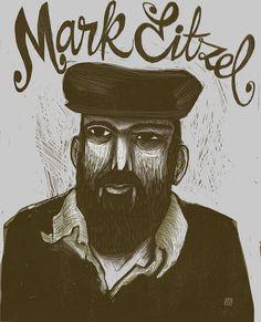 Mark Eitzel Poster (fan art) on Behance (Digicut) Saddest Songs, Music Artists, Printmaking, Fan Art, Cool Stuff, My Favorite Things, Illustration, San Francisco, Poster