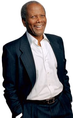 Sidney Poitier. Great man, great actor! Wonderful throughout his life.