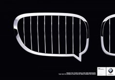 Reads you your e-mails and sms messages. TEXT-TO-SPEECH - BMW Print Ad