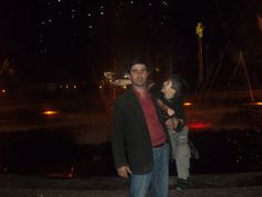 Shukhri with son, Lasha