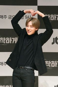 """Jinwoo at the press conference of the tv show """"Live a Nice Life"""" please watch and support Kim Jinwoo from WINNER Winner Jinwoo, Mino Winner, Kim Song, Song Minho, Who Is Next, Love And Respect, Yg Entertainment, My Idol, Tv Shows"""