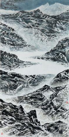 Landscape  (2014) - Liu Guosong (1932 china - ), Shanghai & Taiwan