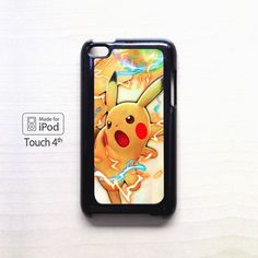 Pokemon Pikachu AR for apple case iPod 4/iPod 5