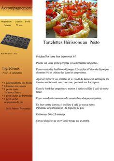 tartelettes_au_pesto Moule Mini Tartelette, Drink Photo, English Food, 20 Min, Lunch Box, Breakfast, Pesto, Desserts, Recipes