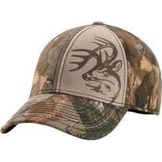 3283e9dfce3 Full Realtree™ Xtra camo accented with a contrast stitching panel with our  Signature Buck decoration
