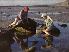 vintage everyday: 23 Rare and Stunning Color Portraits of French Women from the 1920s