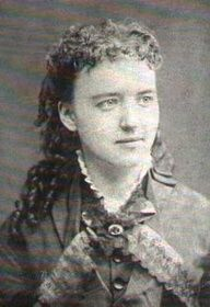 Almanzo's sister Eliza Jane Wilder as she would have looked around the time she taught school in DeSmet