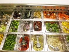 freshii restaurant images | Some of Freshii's 70 fresh ingredients