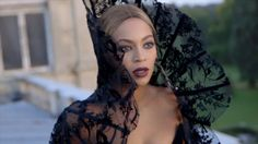 """Beyoncé wearing Thierry Mugler Haute Couture F/W 1995 in the music videos """"Partition"""" and """"Jealous"""""""