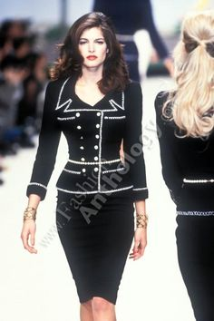 Stephanie seymour for chanel  #90supermodel