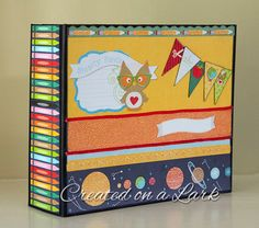 BACK TO SCHOOL or First Year of School Mini Album by CreatedOnALark on Etsy https://www.etsy.com/ca/listing/244477907/back-to-school-or-first-year-of-school