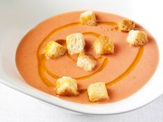 Ferran Adria's Gazpacho via Serious Eats, Cook the Book