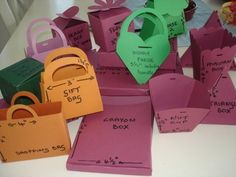 Cricut - All of the Bags and Boxes from Bags, Tags and Boxes