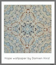 Hope wallpaper by Damien Hirst