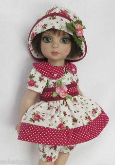 "OOAK Patsy's Rosebuds for 10"" Ann Estelle etc Made by Ssdesigns | eBay"