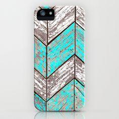 SHORELINE+CHEVRONS+(1+of+3)+iPhone+&+iPod+Case+by+John+Medbury+(LAZY+J+Studios)+-+$35.00