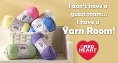 I want a yarn room!