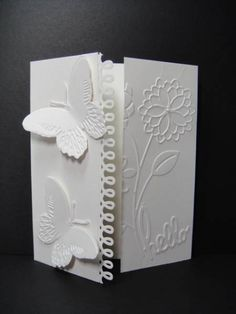 Shimmery Hello DTGD12 by franb63 - Cards and Paper Crafts at Splitcoaststampers