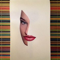 """Lips"" /microHandmadeCollage /2014"