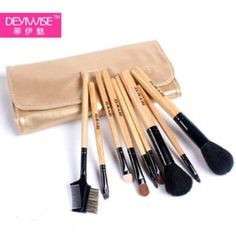 Cosmetic Brush Set - Luxury Comprehensive 9-pc Antibacterial Professional Cosmetic Makeup Brush Set - Studio Line Brushes Made of Natural Bristles. Factory Direct,OEM For Japan Department Stores.Why Pay More For The Same Brush Set. This Brand New Make Up Set Is For The Professional or Make Up Enthusiasts That Just Want The Necessities For Any Stylish Look. Whether Day, Night or Specialty Loo.... $26.95. These Studio Professional Antibacterial Brushes Will Ensure Tha...