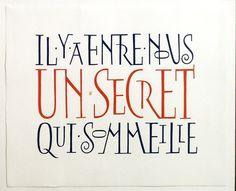 kalligrafie Liesbeth Boudens