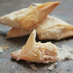 Lightened up crab rangoons, all of the flavor, none of the guilt!