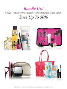 It may be cold out, but these deals on my favorite bundled-up beauty sets are hot! Get up to 50% off on top-rated skincare, makeup, fragrance and more now through February at my Avon eStore! #AvonRep
