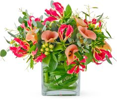 pink and green bouquets - Google Search