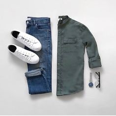 Stylish Mens Clothes That Any Guy Would Love - Stylish Mens Clothes That . - Stylish Mens Clothes That Any Guy Would Love – Stylish Mens Clothes That Any Guy Would Lov - Classic Outfits, Casual Outfits, Men Casual, Casual Shirt, Summer Outfits, Men With Street Style, Outfit Grid, Mens Clothing Styles, Clothing Ideas