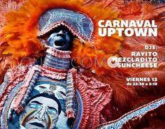 Cartel del Carnaval 2015   Restaurante bocatería Uptown en A Coruña