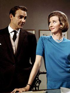 Miss Moneypenny, bein' all sassy.