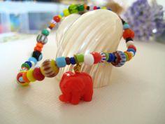 Friendship Bracelet hippie African multicolored by elsyrene