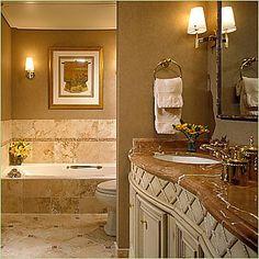 Earth Tone Bathroom Design FirmsGold CoastEarth