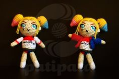 Harley Quinn Suicide Squad  15cm by patipatahandmade on Etsy