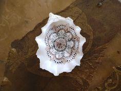 handpainted shell, mandala collection #workshops #creatievelessen #scheveningseschelpenschilderen #scheveningseschelpen