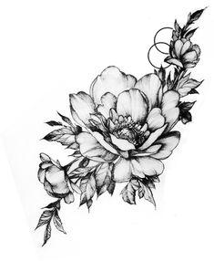 Flower Mandala, Tatting, Tattoo Ideas, Study, Inspirational, Flowers, Black, Tatoo, Arm Tattoos