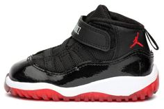 check out 090cb f4976 NIKE JORDAN 11 RETRO (TD) TODDLER 378040-010 BRED ( 113) ❤