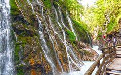 Die Wimbachklamm im Bergsteigerdorf Ramsau: Ein atemberaubendes Naturschauspiel von wildem Wasser und schroffen Felsen!