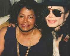 Michael and his mother
