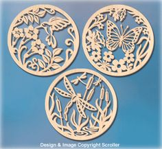 Spring Creature Wall Art Scroll Saw Patterns