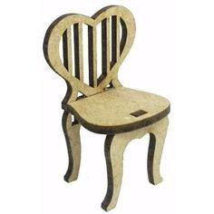 Cadeira Mini Mdf Cru - Aniversario-festa-aniversario - R$ 1,00 no MercadoLivre