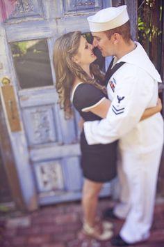 Nautical Navy engagement photos #military