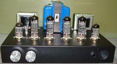 5751 SRPP / EL84 (6BQ5) Push-Pull DIY Class-A Tube Amplifier