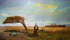 No Hay Señales Painting, Pintura, Art, Scenery, Painting Art, Paintings, Painted Canvas