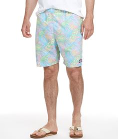 Shop Turtles & Palms Chappy Trunks at vineyard vines