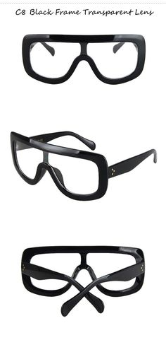 789c996a028 Oversized Flat Top Square Sunglasses