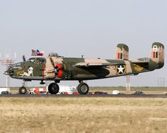 """B-25 """"Yellow Rose"""" of the CAF"""