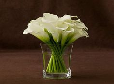 Cala Lilies, my FAV flowers...so simple and elegant