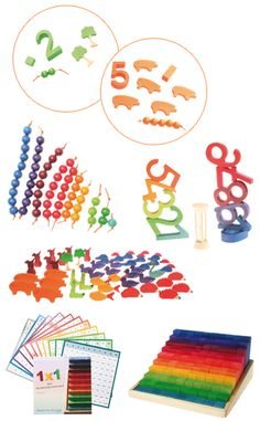 GRIMM's World of Numbers ♥ Inspiration for homemade toys